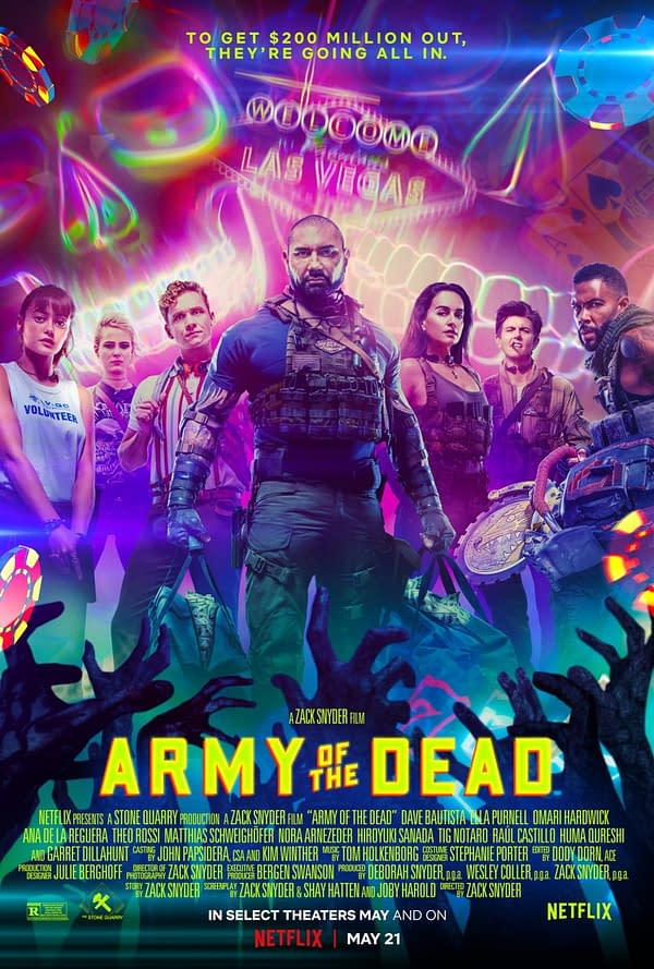 Yet Another Army of The Dead Poster Released By Netf