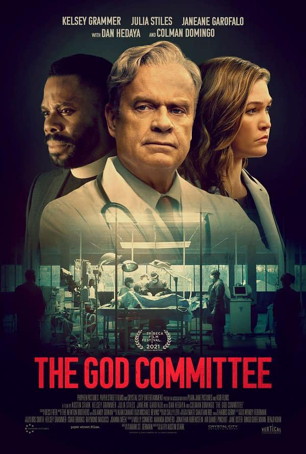 God Committee star Kelsey Grammer on film ethics
