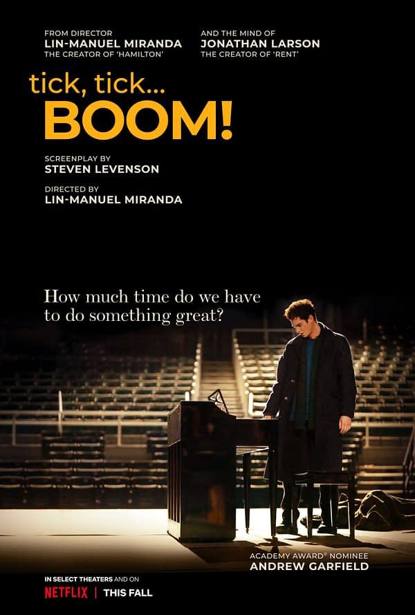 Tick, Tick Boom Trailer Debuts, Larsen Adaptation From Miranda Out Soon