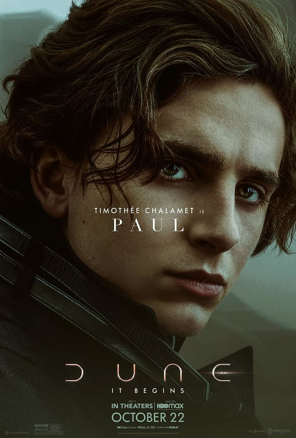 14 New Character Posters for Dune Show Off the Impressive Cast