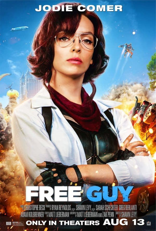 Free Guy: 6 New Character Posters Shows Off The Impressive Cast