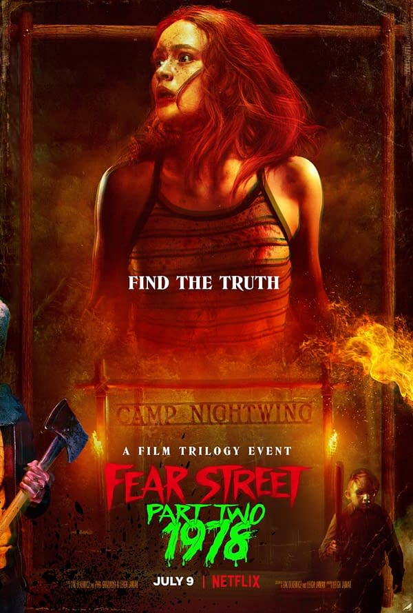 Fear Street: 1978 Poster Debuts, Second Part Out Friday On Netflix
