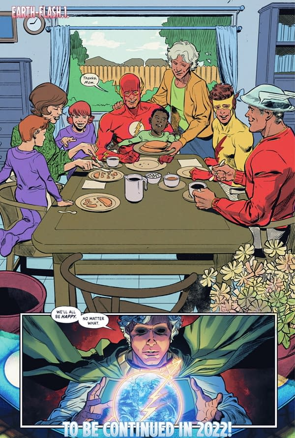 A Brand New DC Comics Multiverse For 2022 (Infinite Frontier #6 Spoilers)
