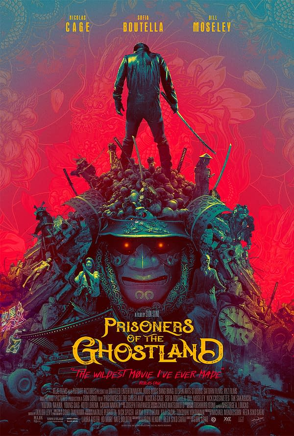 Prisoners of the Ghostland: Bill Moseley Talks Film and Nicolas Cage
