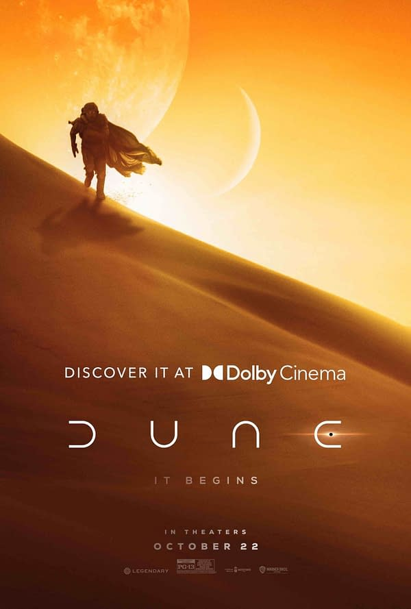 Dolby Cinema Releases a Dune Poster as Festival Buzz Grows