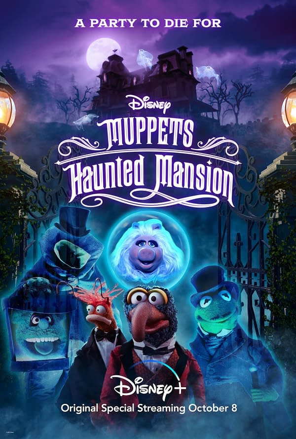 """Muppets Haunted Mansion Announces More """"Guests"""" for Disney+ Series"""