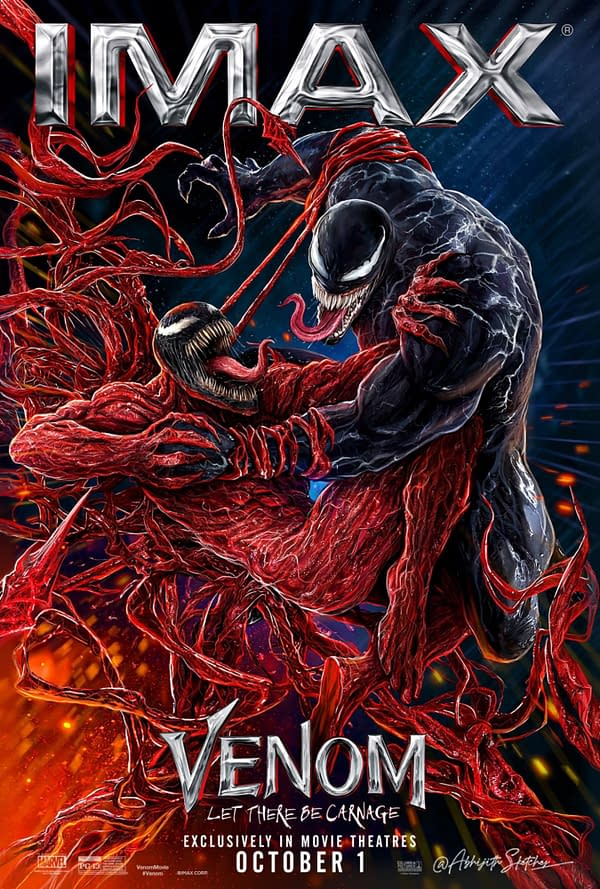 New Venom: Let There Be Carnage Poster Plus 4 Character Posters
