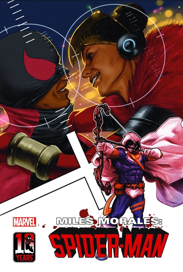 Cover image for MILES MORALES SPIDER-MAN #31