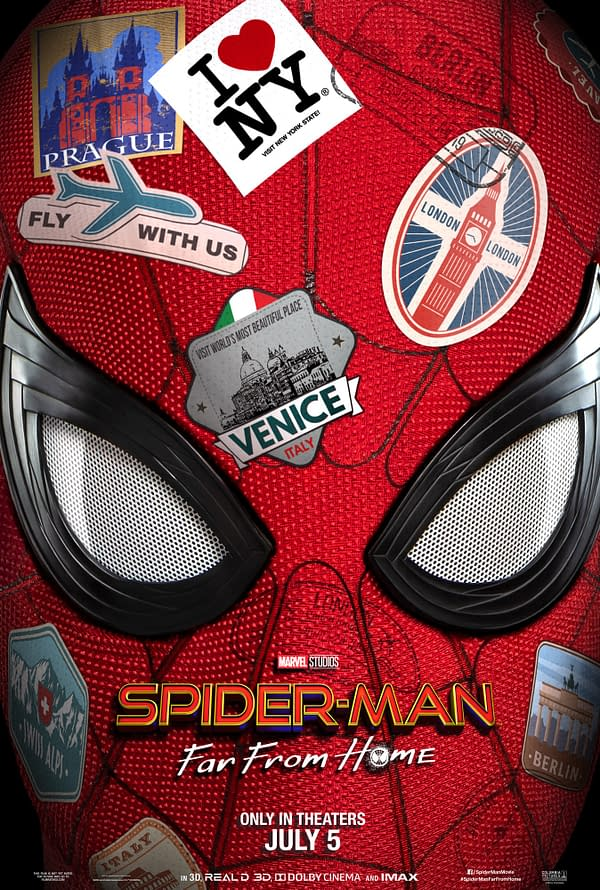 Did You See The 'Spider-Man: Far From Home' New Poster?
