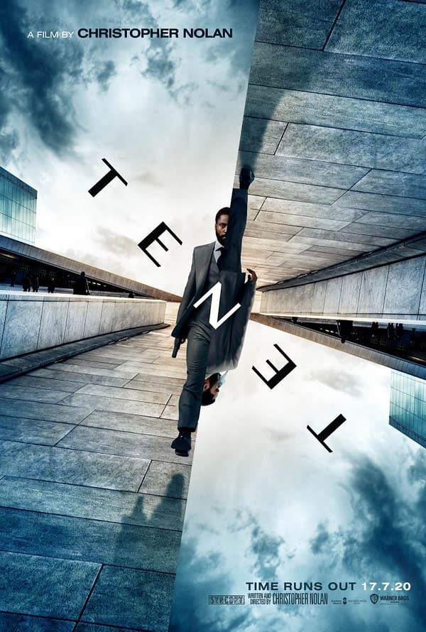 The official trailer for Tenet. Image Credit: Warner Bros.