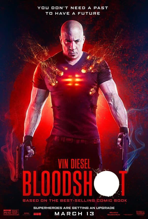 """New International Poster for """"Bloodshot"""""""