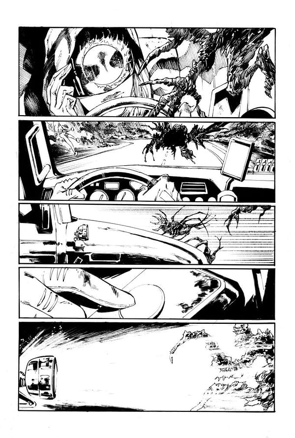 Scott Snyder, Tony S Daniel Kickstarter Launch New Comic, Nocternal
