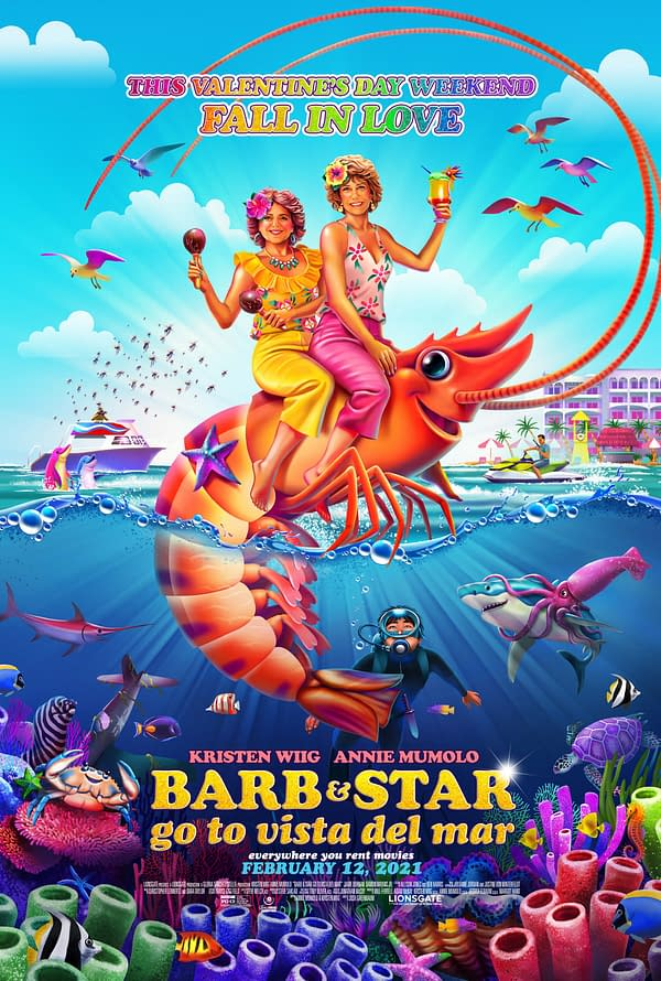 Trailer For Kristen Wiig Comedy Barb & Star Go To Vista Del Mar Debuts