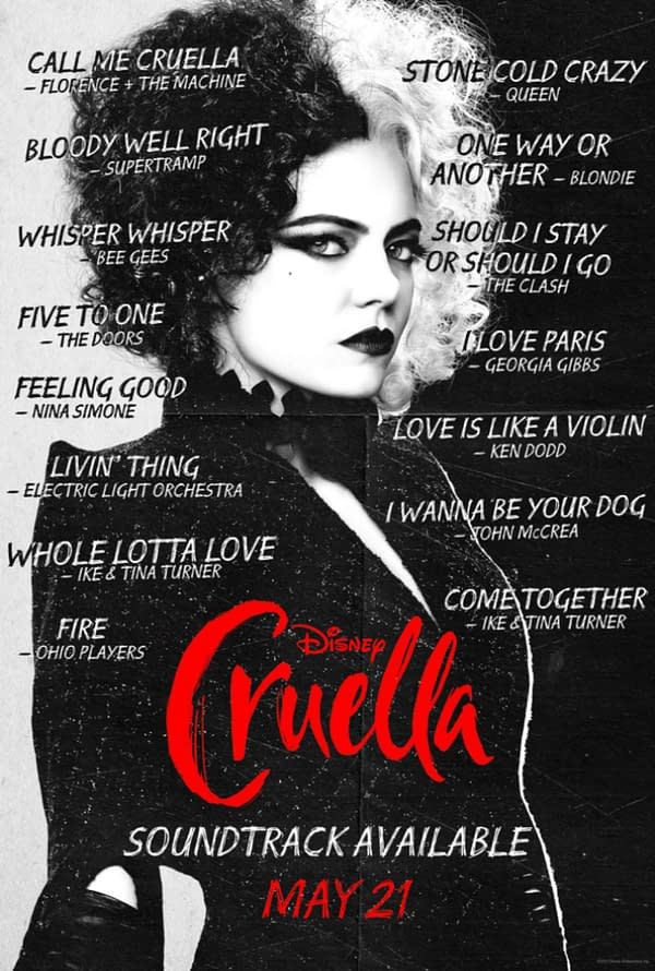 Cruella: Sneak Peak of the New Florence + The Machine Original Song