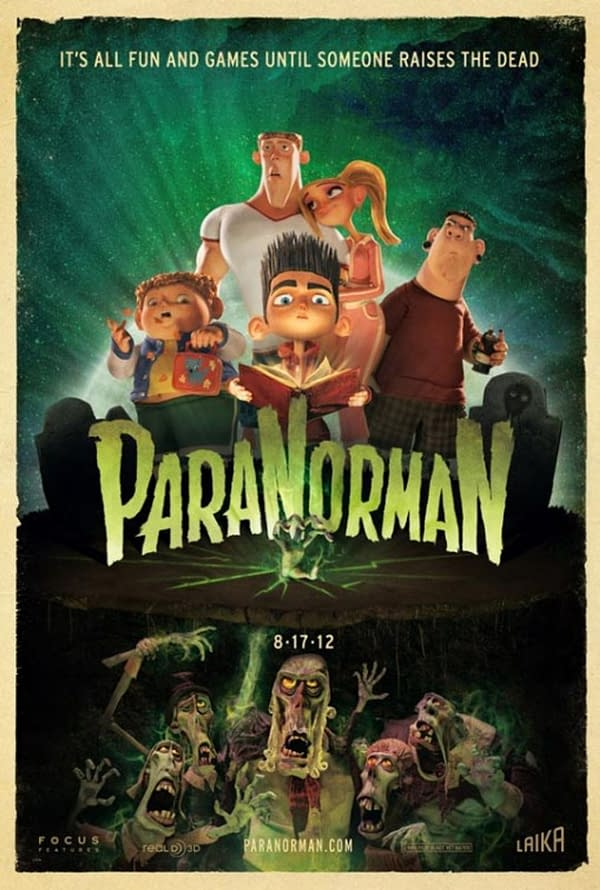 Coraline, ParaNorman to Return to Theaters in Fathom Events Showing