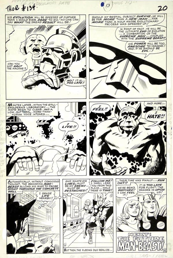 Let's Go Buy Some Comic Book Art – Jack Kirby Or Warren Ellis?