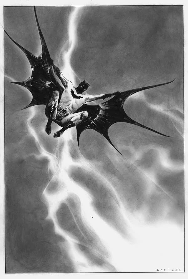 Jae Lee Dark Knight III #1 Original Art
