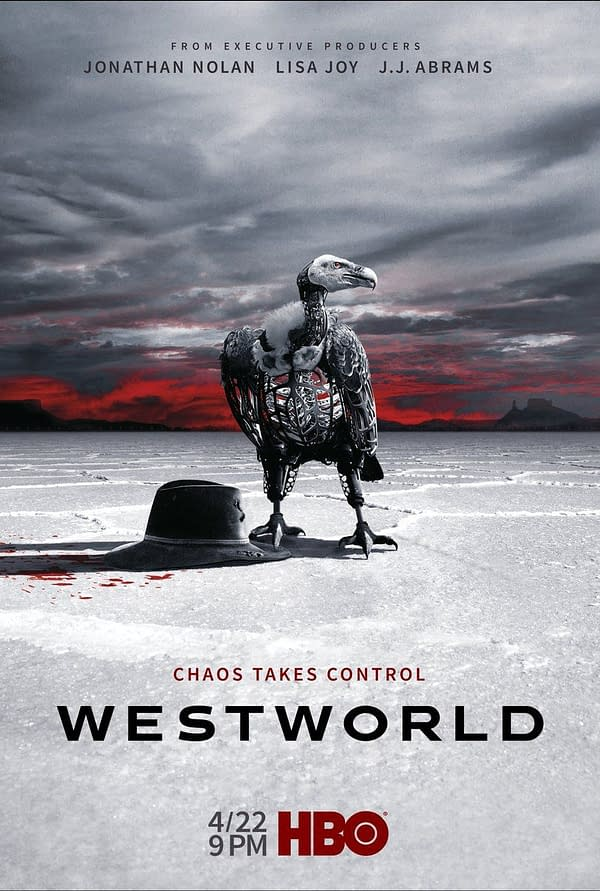 Westworld Launches Helper Bot Aeden and New Season 2 Poster