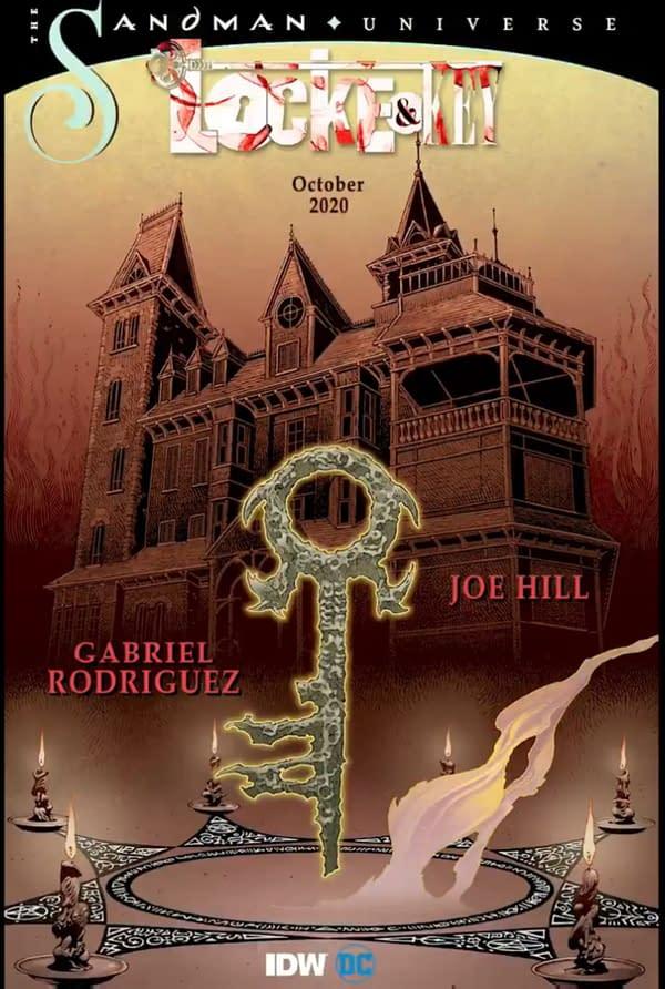 Art from Locke And Key/Sandman, planned for October.