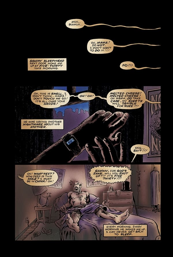 Don Simpson and Gary Groth On Alan Moore's No-Credit For In Pictopia