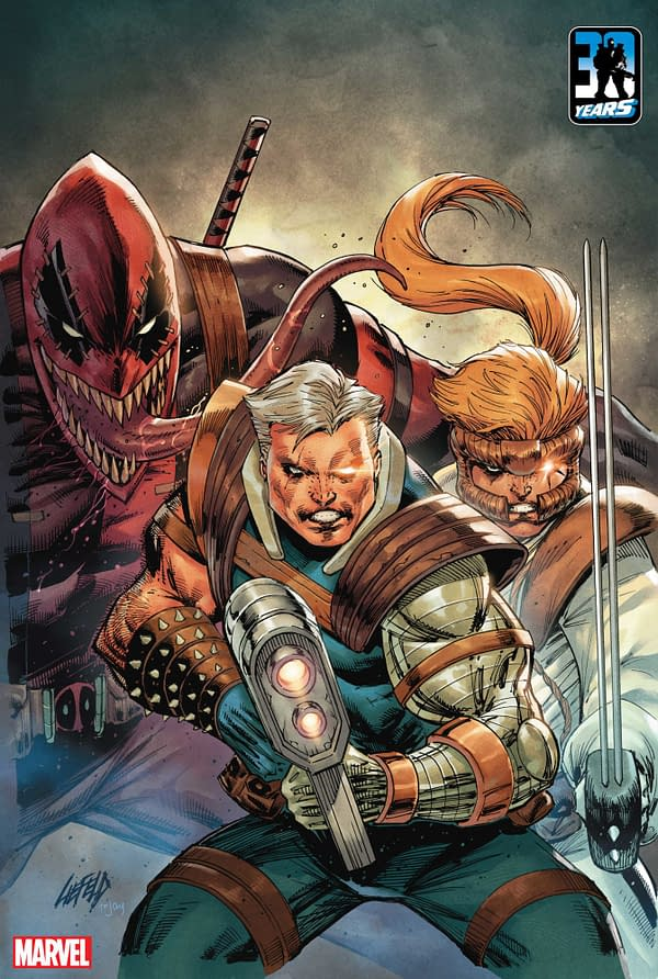 Rob Liefeld Returns To X-Force In November For 30th Anniversary