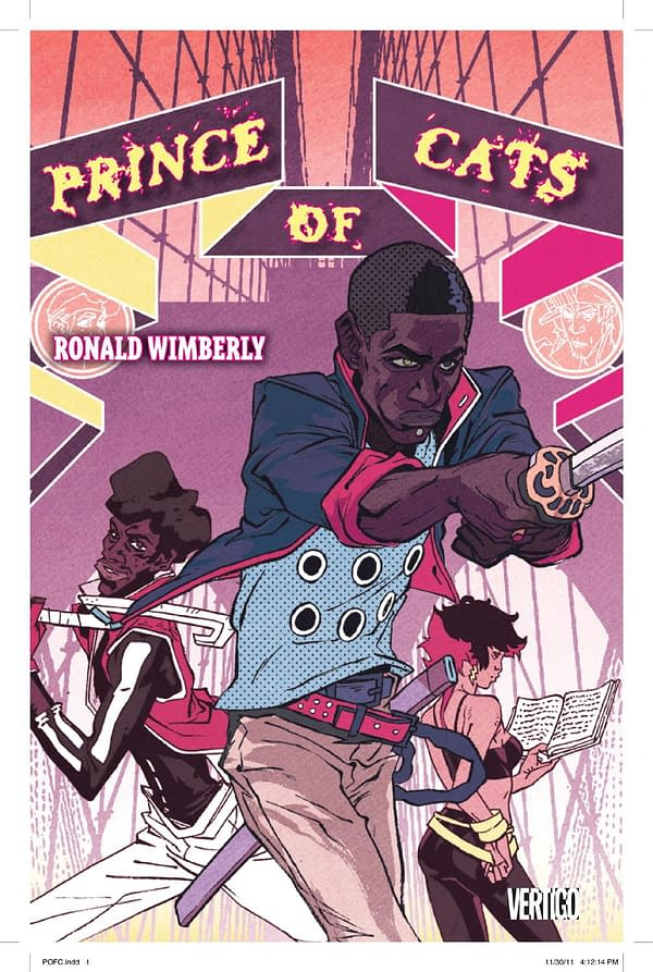 Prince Of Cats By Ron Wimberley To Be Remastered, Announced At #ImageExpo (UPDATE)