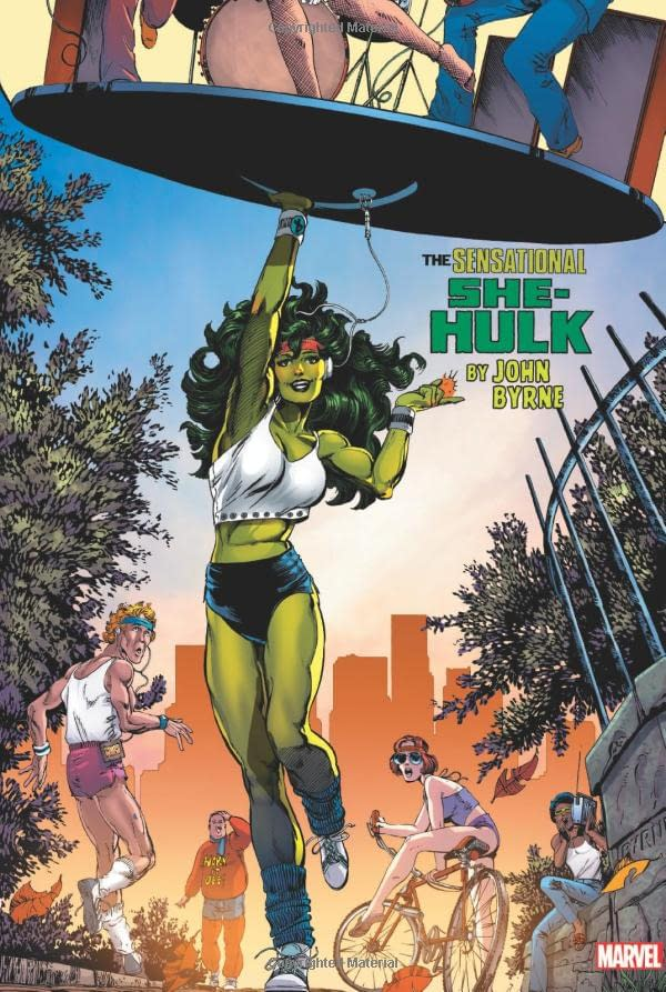 She-Hulk Omnibus Cover Gets Original Colouring Back