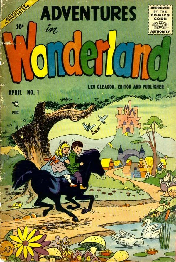 Diving into the Comic Vault: Adventures in Wonderland #1