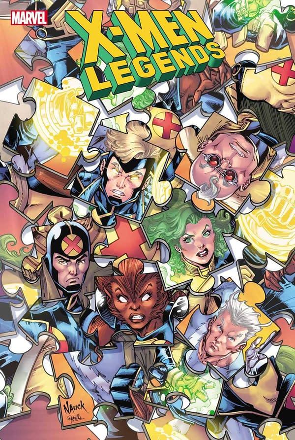 Peter David - But No Joe Quesada - For X-Men Legends In July