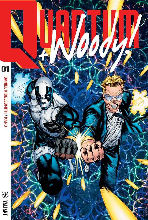 "Valiant's Quantum and Woody Gets ""Extreme Ultra-Foil"" Covers – Featuring Actual 90s Foil"