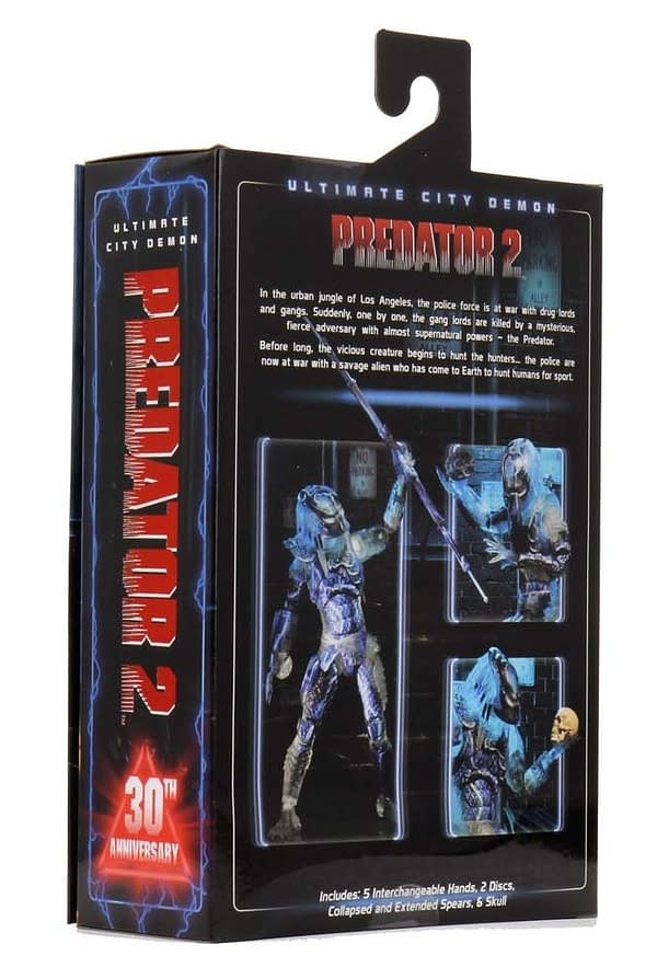 NECA SDCC Reveals Number Two: Predator 2 City Demon Predator