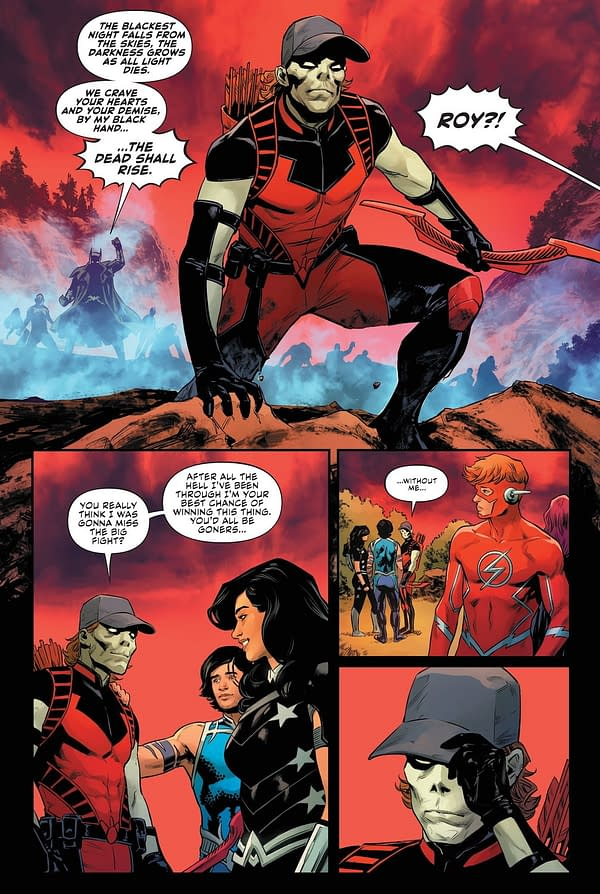 Where Is Roy Harper In DC Infinite Frontier? (Spoilers)