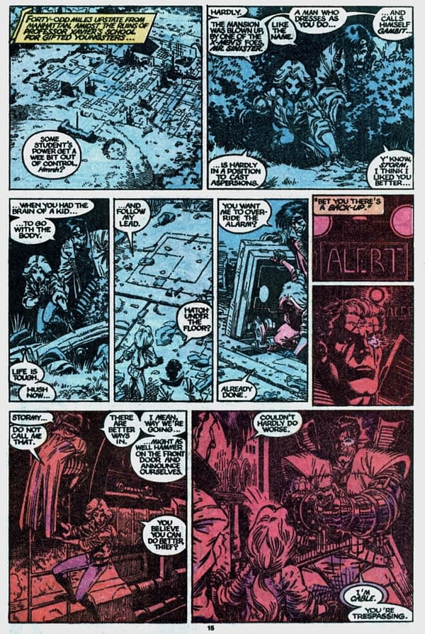 When is a First Appearance Of Gambit Not a First Appearance Of Gambit?