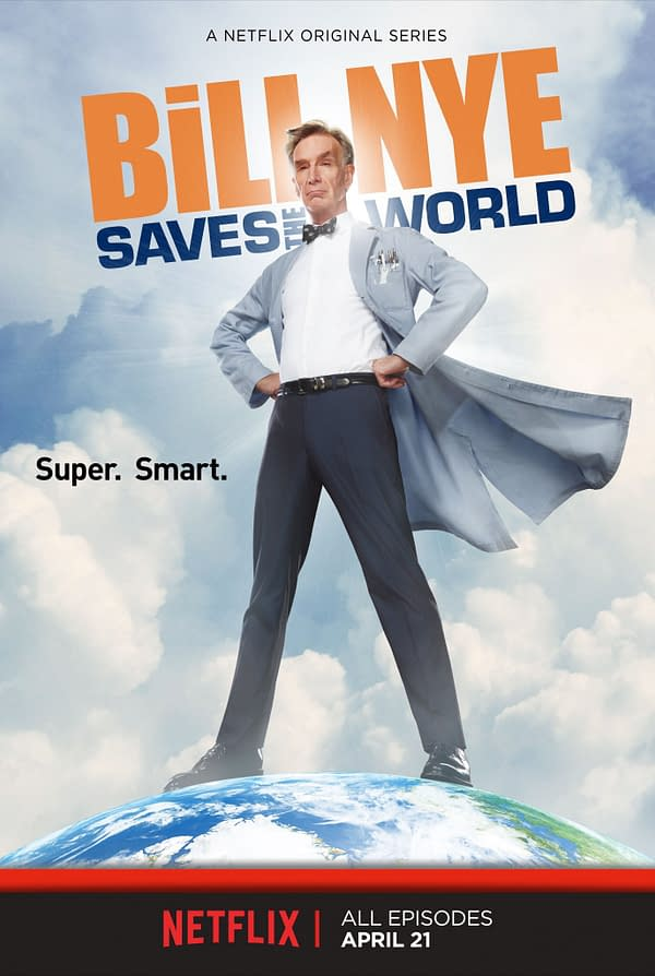 Science Guys New Show Bill Nye Saves The World Takes On Topics Like Climate Change On Netflix April 21