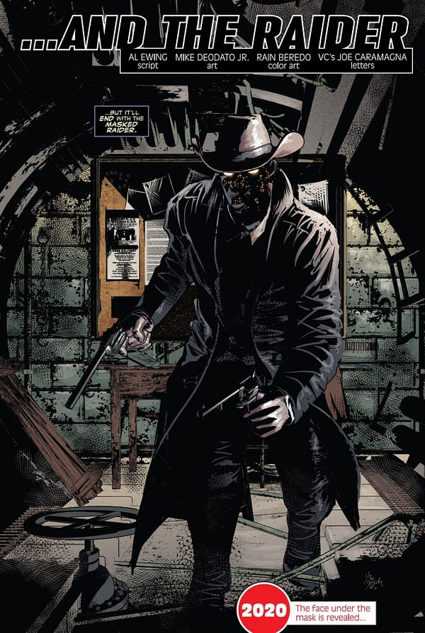 The Masked Raider as a Meta- Marvel Comics #1000, #1001 and Incoming