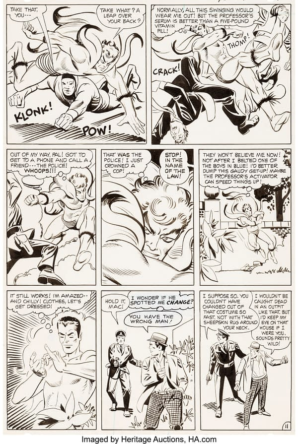 Steve Ditko Spider-Man Original Artwork Pages With Stan Lee Auctioned