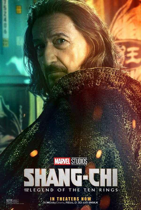 Shang-Chi: Morris and Trevor Slattery Get Their Own Character Posters