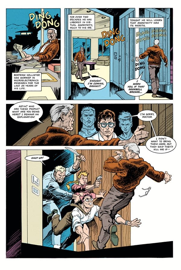Dark Horse Exclusive Previews – The Terminator: Tempest One-Shot And Serenity Adult Coloring Book