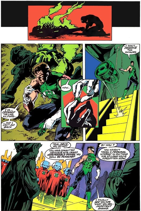 Hal Jordan's Heroes In Crisis #7 'Trauma' Cover Revealed