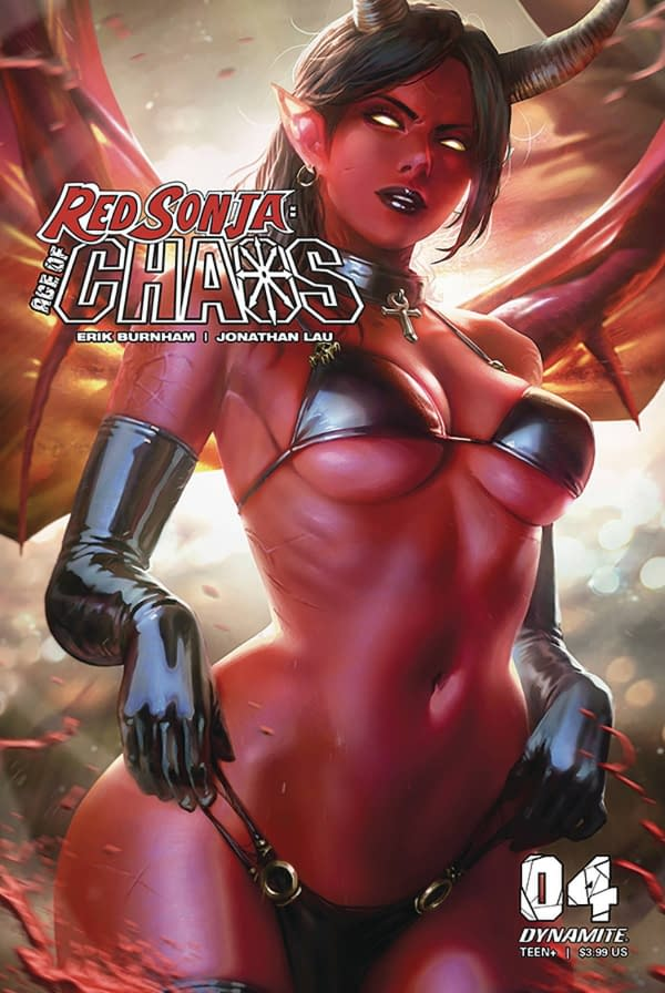 Red Sonja Age Of Chaos #4 Cover D