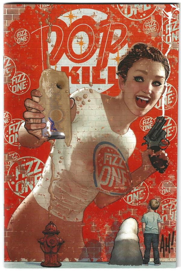 Adam Hughes' Pop Kill #4 Cover Sells For Over $1000 On eBay