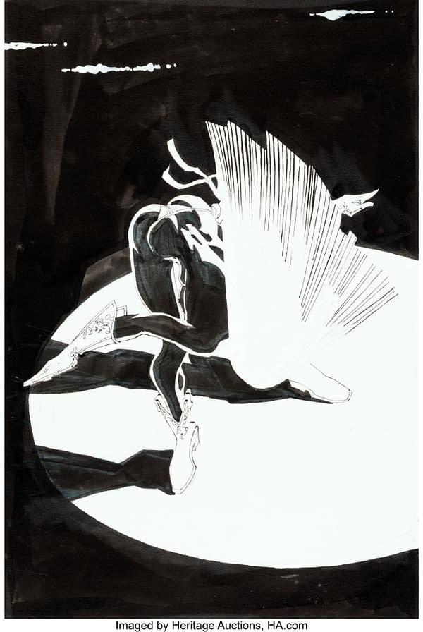 Frank Miller Elektra, Sin City and Daredevil Original Artwork At Auction