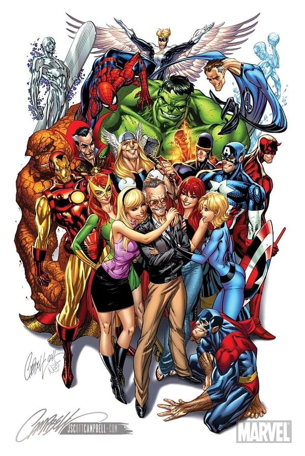 J. Scott Campbell Calls for Comic Industry to Speak Out Over Stan Lee's Situation