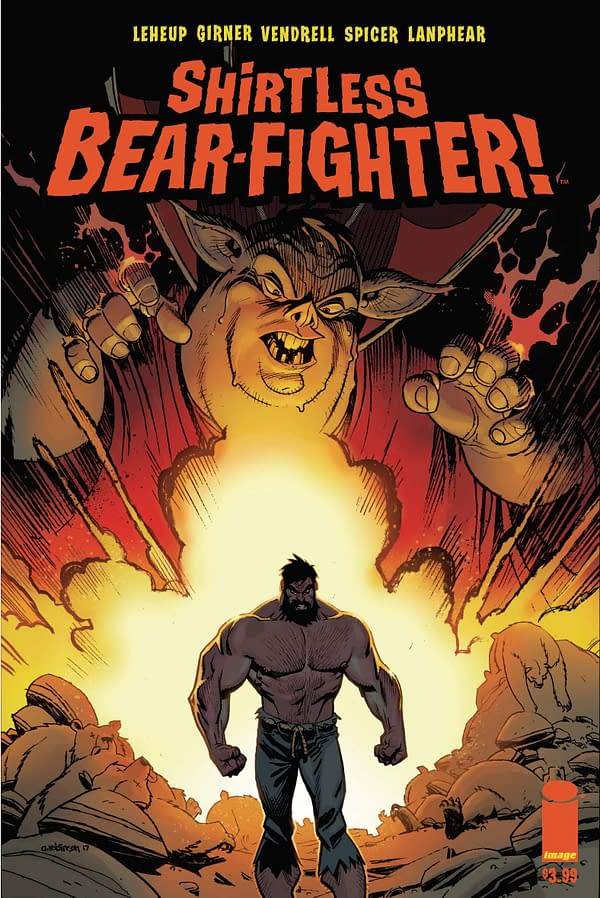 Preview Of Shirtless Bear-Fighter #2 Brings You… The Hillbilly Warlock