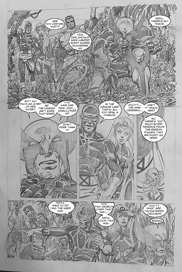 John Byrne is Writing and Drawing His Own X-Men Fanfic Comic, Evermore