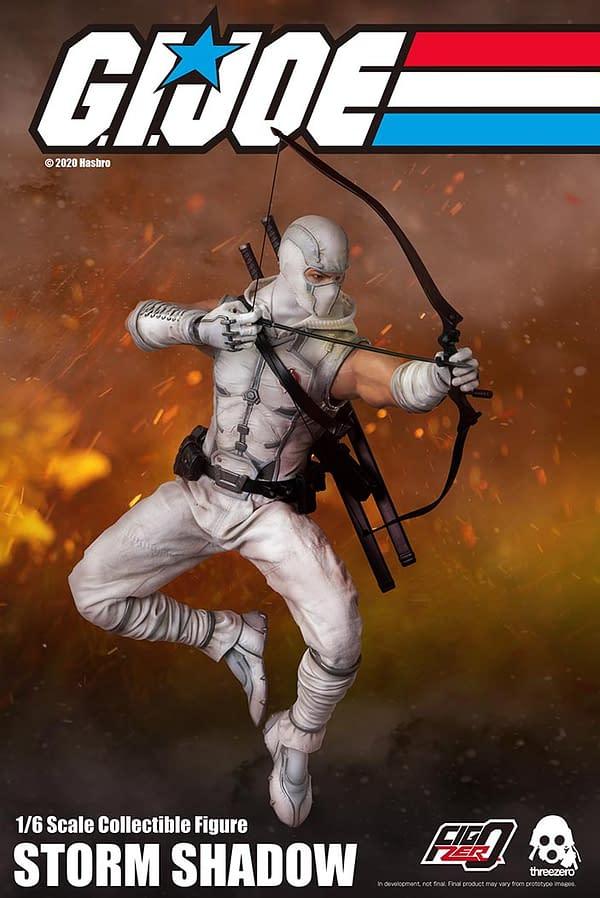 GI Joe Storm Shadow Get New Figure from threezero and Hasbro