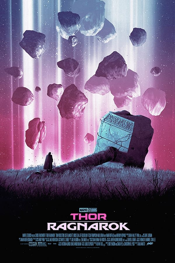 New Thor: Ragnarok Poster By Dániel Taylor On Sale At Mondo Tomorrow