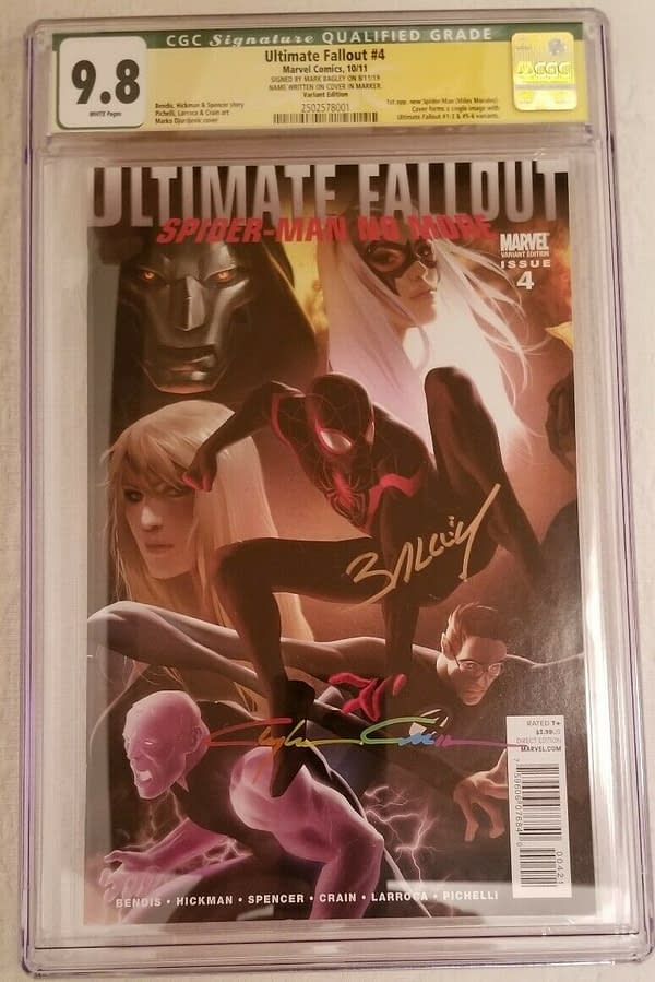 Miles Morales Spider-Man 1st Appearances Boom on eBay Ultimate Fallout