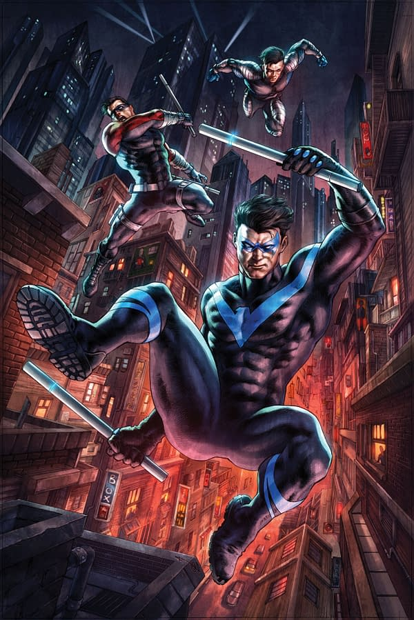 Nightwing #75 cover. Credit: DC Comics.