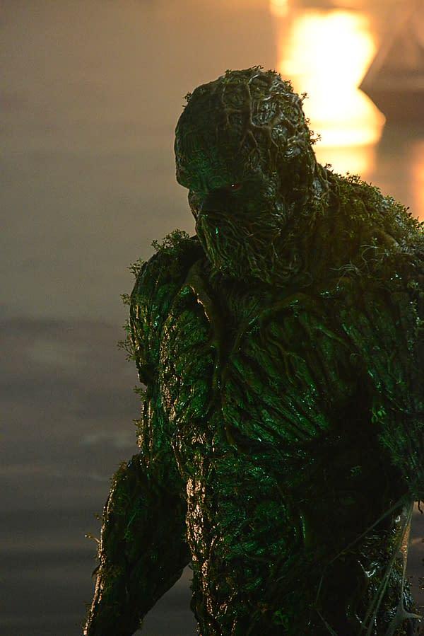 "Swamp Thing -- ""Pilot"" -- Image Number: SWP101d_0053 V1 -- Pictured: Derek Mears -- Photo: Brownie Harris / 2020 Warner Bros. Entertainment Inc. -- © 2020 Warner Bros. Entertainment Inc. All Rights Reserved."